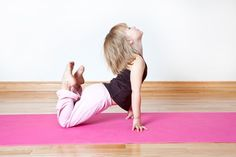 Yoga for children can brings many positive changes to a child's behavior both at home and in the classroom, and this is why so many teachers are beginning to use it. 1. The sunrise/sunset pose 2. The roar 3. The sandwich wrap 4. The Flamingo 5. The roller coaster
