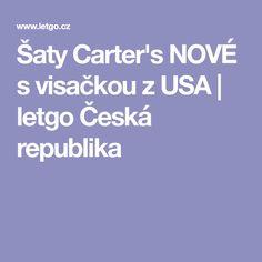 Šaty Carter's NOVÉ s visačkou z USA | letgo Česká republika