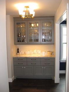 Beverage center - add a coffee maker and a sink and it would be complete!