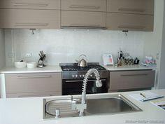 Modern Beige Kitchen Cabinets #03 (Kitchen-Design-Ideas.org) colour idea for kitchen cabinets