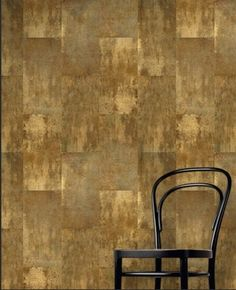 Minéraux: Bronze Age by French American Wallpaper - contemporary - wallpaper - other metro - frenchamericanwallpaper.com