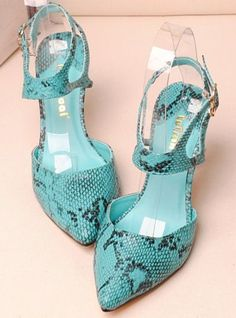 shoes - http://zzkko.com/n211029-ew-sexy-serpentine-belt-leather-pointed-high-heeled-sandals-with-thin-snap-Rome-singles-shoes.html $24.13