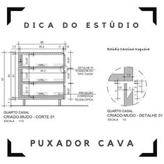 O Puxador é cava chique – Estúdio Carolina Nogueira. Dica de detalhamento. #detalhamento #detalhamentodemobiliario #detalhamentodemoveis #designdemobiliario #designdemoveis #designbrasileiro #movelplanejado #moveldemadeira #puxadorcava #puxadores Interior Design Presentation, Office Interior Design, Interior Exterior, Office Interiors, Home Library Design, House Design, Kitchen Drawing, Powerpoint Design Templates, Construction Drawings