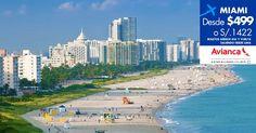 #CyberMami. Oferta a #Miami con #Avianca. Regulaciones y compras en http://landing.costamar.com/Vuelos/Lima/Miami
