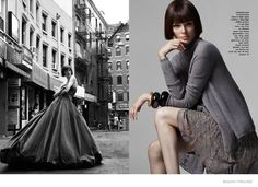 Coco Rocha is a Classic Beauty in Bazaar Thailand Feature