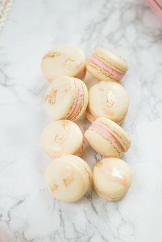 Rosé French macarons recipe