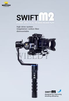 Wieldy Handheld 3axis for Gopro and DSLR Camera Gimbal Stabilizer Steadicam