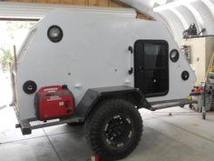 Skerfans New Shuttle Pod Trailer Build - Page 2 - Toyota FJ Cruiser Forum Box Trailer, Off Road Trailer, Trailer Build, Teardrop Trailer, Camping Forum, Off Road Camping, Truck Camping, Mini Caravan, Mini Camper