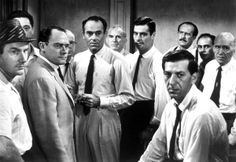 13 Apr 1957, saw the classic 12 Angry Men released, 93 of the 96 mins of the film is set in the jury's room
