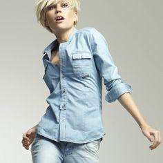 cfd33fdad3d  Chemise  jeans  G-star  Gstar  chemisejean  mode  modefemme