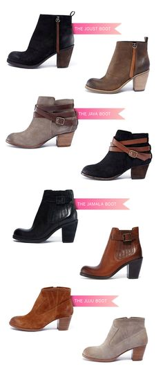 Dolce Vita Booties, i'll take one of each