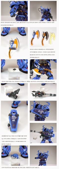 GUNDAM GUY: MG 1/100 Gouf 2.0 + Conversion Parts - Painted Build