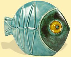 Fisch türkis groß - Klick:  Zurück zu Seyko Art Galerie