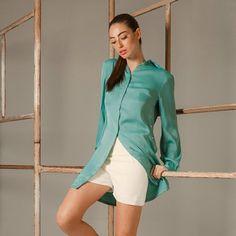 Chemisier, versátil e elegante. #juliannafraccaro #modabrasileira #modafeminina #fashion #ropadediseño #feitonobrasil #madeinbrazil #inverno2016 #portoalegre #slowfashion