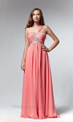910c760c4bc One Shoulder Beaded Orange Prom Dress DVP0061  DVP0061  Orange Prom Dresses