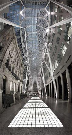Santiago Calatrava - Allen Lambert Galleria