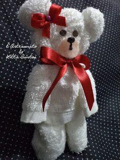 Ursinho de toalha by Litta Santos