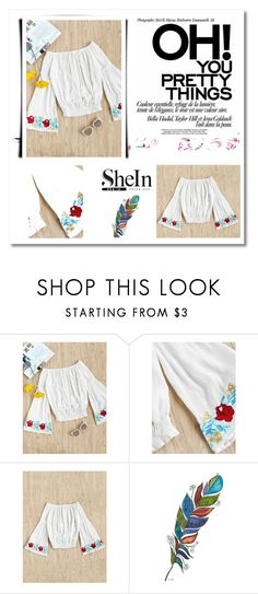"""SHEIN - WIN $30 COUPON CODE"" by sabii-dlii ❤ liked on Polyvore"