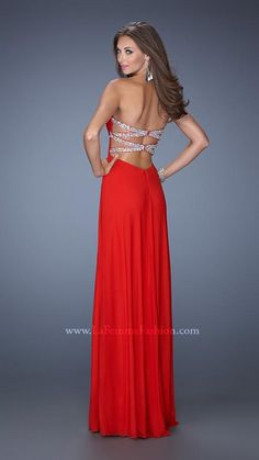 La Femme 19659 | La Femme Fashion 2014 - La Femme Prom Dresses - Dancing with the Stars