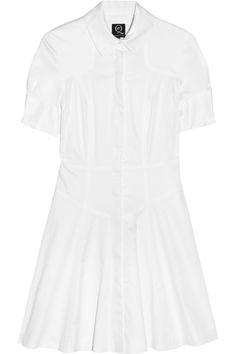 £254.17 Stretch-cotton shirt dress by McQ Alexander McQueen