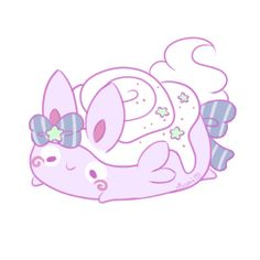 Cakie by Sarilain Cute Fantasy Creatures, Cute Creatures, Kawaii Doodles, Kawaii Art, Cute Animal Drawings Kawaii, Cute Drawings, Pusheen, Animal Magic, Super Cute Animals