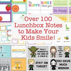 Share on Facebook Share 4367 Share on Pinterest Share 4085 Share on TwitterTweet 19 Share on Google Plus Share 65 Share on LinkedIn Share 0 Send email Mail  I love sending love notes in my kids' home lunches. It's so fun to let them know that their mama loves them while they are away.   …