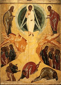 Black Hebrew Israelites, The Transfiguration, Byzantine Art, Orthodox Icons, Serbian, Catholic, Medieval, Scene, Art