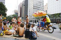 """Nos dias 21 e 22, a avenida Paulista será transformada em uma """"praia"""" e """"sala de…"""