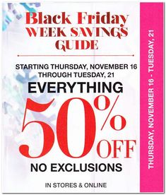 New York & Company Black Friday 2017 Ad Scan, Deals and Sales New York & Company's 2017 Black Friday ad is here! Starting on Wednesday, November you can get up to off everything in-store and online. Black Saturday, Black Friday Ads, Best Black Friday, Stage Stores, Deal Sale, New York And Company, Everything, News, Wednesday