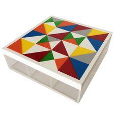 Large Puzzle Tea Box By Sandra Macaron. Shop Letternoon.com #Letternoon #SandraMacaron