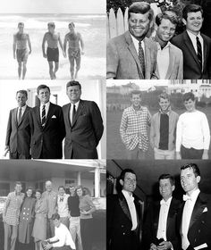 The Kennedy brothers❤✨
