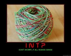 INTP Don't Worry It All Makes Sense