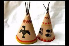 DIY Indian Teepees