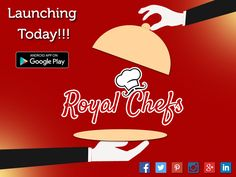Your Wait Is Over. All The Chefs And All The Foodies! One Stop For Everybody. Here Launches Royal Chefs. Download From the Google Play Store Now. #Foodapp #Tiffins #homemadefood #restaurants #royalchefs  https://play.google.com/store/apps/details?id=com.gyantech.royalchef&hl=en