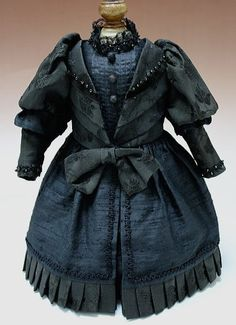 Antique style doll costume