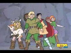 Dungeons & Dragons Cartoon Intro 1983
