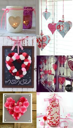 36 diy valentine s day decorations ideas pretty hearts and roses pinks and reds idee saint valentinnourriture de