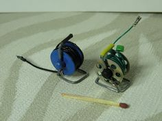 diy dollhouse garden hoses from sewing machine bobbins (scheduled via http://www.tailwindapp.com?utm_source=pinterest&utm_medium=twpin&utm_content=post127671087&utm_campaign=scheduler_attribution)