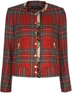 Rag & Bone Tartan Short Jacket--- an easy throw-it-on item with skinny jeans and a t-shirt or cashmere pullover Mode Tartan, Tartan Plaid, Tartan Clothing, Vintage Clothing, Scottish Plaid, Scottish Tartans, Tartan Christmas, Tartan Fashion, Look Blazer