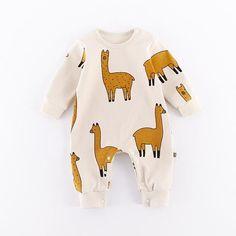 Llama Cotton Onesie