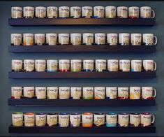 Image result for display starbucks mugs