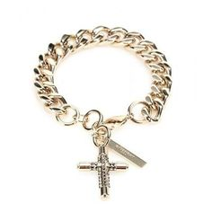Givenchy - Cross chain bracelet #accessories #givenchy #women #covetme