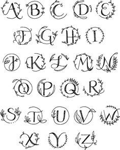 Fonts Alphabet Discover Monogram Custom Engraved Laser Engraved Personalized Board Letter Engraving (cutting board NOT INCLUDED) Caligraphy Alphabet, Hand Lettering Alphabet, Brush Lettering, Pretty Fonts Alphabet, Alphabet Fonts, Cool Letter Fonts, Monogram Alphabet, Letter Art, Cool Writing Fonts
