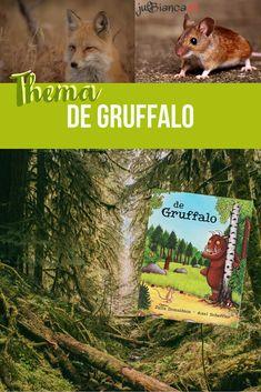Het boek De Gruffalo gaat over een muis die in het bos allerlei dieren tegenkomt die hem wel op willen eten. Hij maakt hen echter bang met een verhaal over een eng monster, de Gruffalo. Maar uiteindelijk blijkt die enge Gruffalo echt te bestaan! Een prachtig prentenboek op rijm dat zich afspeelt in het bos. [...] Monster Co, Gruffalo Party, Fox, School, Animals, Preschool, Animales, Animaux, Animal
