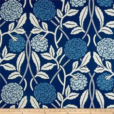 Duralee Tavistock Ottoman Blue from @fabricdotcom  From Duralee, this cotton ottoman fabric is medium weight and very versatile. Perfect for window treatments (draperies, valances, swags), duvet covers, toss pillows, and light upholstery. Colors include shades of blue, grey, and cream. Peel N Stick Wallpaper, Tavistock, Fabric Ottoman, Cute Patterns Wallpaper, Drapery Fabric, Curtains, Vinyl Fabric, Home Decor Fabric, Cool Diy Projects