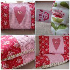 pretty pillows ... Tilda fabric
