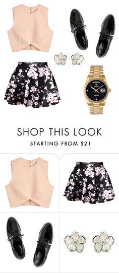 """""""Untitled #2"""" by anggahp on Polyvore featuring Finders Keepers, Dear Frances, Shaun Leane and Rolex"""