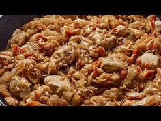 (85) Iau o varză, puțină carne, și gătesc această cină rapidă incredibil de delicioasă! Recomand - YouTube Ground Meat Recipes, Carne, Easy Meals, Easy Recipes, Cabbage, Appetizers, Chicken, Dinner, Cooking