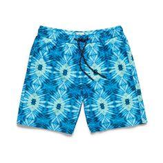 Boys Jimmy Batik Volley - Blue - 4 / Blue Multi