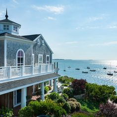 Wequassett Resort and Golf Club on Cape Cod in Chatham, Massachusetts